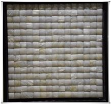 White Shell Mosaic for Flooring Wall Tile Swimming Pool House Decor