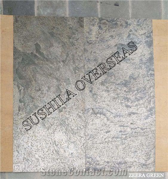 Flexible Multicolour Slate Stone Veneer Sheet From India