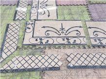 Azul Bahia Waterjet Granite Polished Tiles &Mosaic
