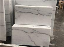 China Carrara White Window Sill Marble Polished Tiles&Slabs