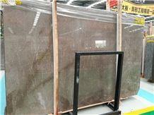 Ankara Grey Ash Marble Slabs for Interior Wall and Floor Covering