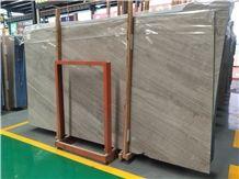 Best Brown Cross Grain Marble Slabs for Interior Wall/Floor Decoration