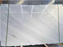 Big Slab Canada White Crystall Marble Slab Backlighting