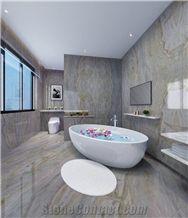 Blue Sea Green Marble Slabs & Tiles/Bathroom Wall&Floor Decoration