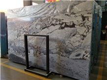 Building Wall and Floor Tile Titanic Storm Marble Slab High Polished