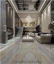 China Blue Sea Marble Slabs & Tiles/Living Room Decoration/Hotel Decor