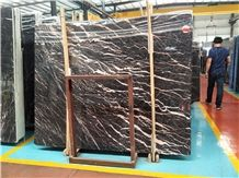 China Golden Jade Gold Brown Marble for Wall Cladding & Floor Covering