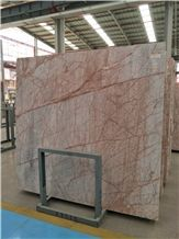China Golden Red Spider Marble Slabs &Tiles