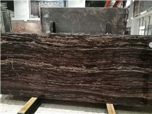 China Purple Wooden Marble Slabs & Tiles for Flooring/Walling Patterns