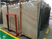 Italy Ferragamo Brown Marble Wood Vein Tiles & Slabs, Floor/Wall Cover
