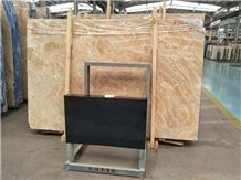 Italy Iridescent Cloud Marble Beige Slabs/Tiles for Wall/Floor Paving