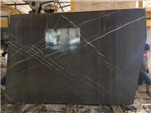 Persian Nero Marquina Dark Grey Marble for Table Tops