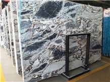 Titanic Storm/Blue Galaxy Marble Slabs & Tiles Floor/Wall Covering