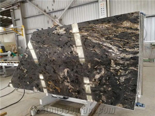 Titanium Granite Slabs for Kitchen Countertops from China