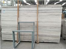 Wonderful Athens Grey Wood Marble Slabs for Wall and Floor Covering