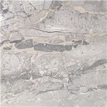Fior Di Bosco Marble Slabs & Tiles, Italy Grey Marble for Wall & Floor