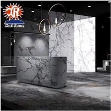 Brazil Grey Marble Invisible Grey Marble Tile, Marble Tile and Slab