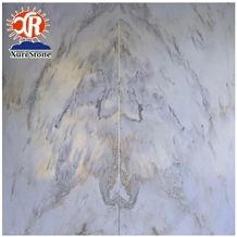 Cheapest Chinese Landscape Painting White Marble