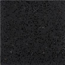 Black Terrazzo Tile, Artificial Stone Tile, Tt006u