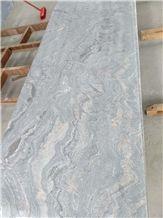 New China Juparana Pink Granite Flamed+Brushed Half Slabs