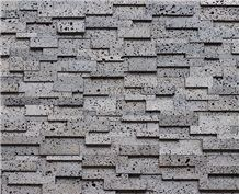Volcanic Cultured Stone Wall Panels Feature Wall Garden