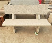 Cheap Granite Stone Bench with Back
