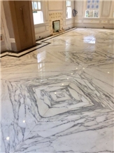 Italy White Marble Australia Big Size Bookmatch Interior Floor Tiles