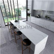 Calacatta White Quartz for Kitchen Countertops