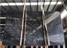Silver Waves/Zebra Black Wooden Forest Brown Marble Stone Slabs&Tiles