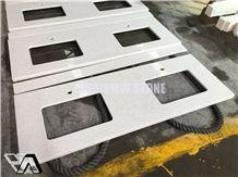 White Quartz Kitchen Counter Top/Quartz Countertop