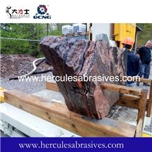 Stone Profiling Processing Cnc Wire Saw Machine