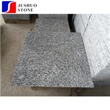China Cheap Granite Lang Hua White Granite Spray White Customized Tile