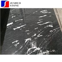 China Snow Grey White Veins Granite Tile Floor Covering French Pattern