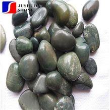 Cobblestone,Pebble,Cobble Stone,Paint Pebble Green Multicolor Black