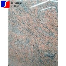 Indian Multicolor Red Granite/Red Symphony Stone Tile Slab Inner Tiles