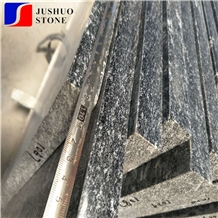 Jet Mist,River Black,Galaxy Silver Gray Granite Tile for Wall Cladding