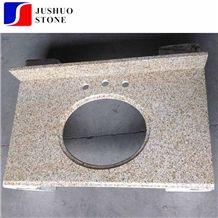 Padang Giallo Rust Stone Shijing Gold Sesame Granite,G682 Kitchentop