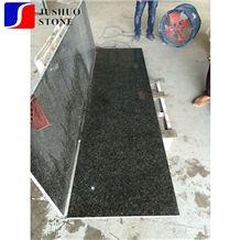 Polish Verde Ubatuba Gold Granite/Amazonas Dark Green Stone Tile Slab