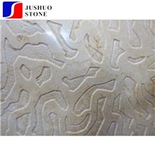 Polished Sunny Beige Marble Aluminum Honeycomb Panel for Wall Cladding