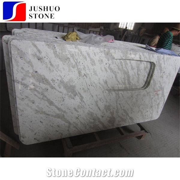 River White Granite Countertop With Indian Price For Kitchen