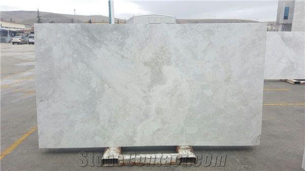 Nimbus White Marble Slabs From Turkey