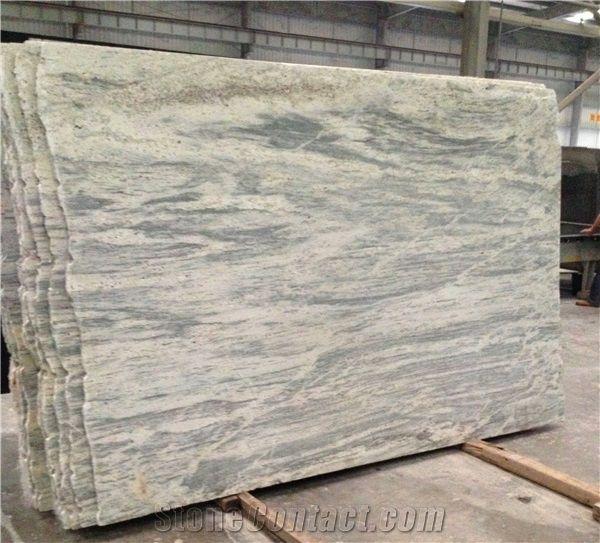 Brazil New River White Granite Slabs From China