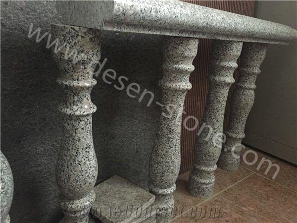G383 Pearl Flower Granite Stone Staircase Rails/Handrails/Railings