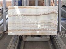 Onyx Willow/Cream Onyx/White Tiger Onyx Stone Slabs&Tiles Backgrounds