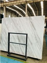 Volakas White Marble Tiles/Slabs/Cut to Size Polished for Floor & Wall