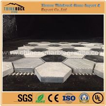 Chips 47mmx8mm Multi Surface Hexagon Mix Marble Mosaic Tiles