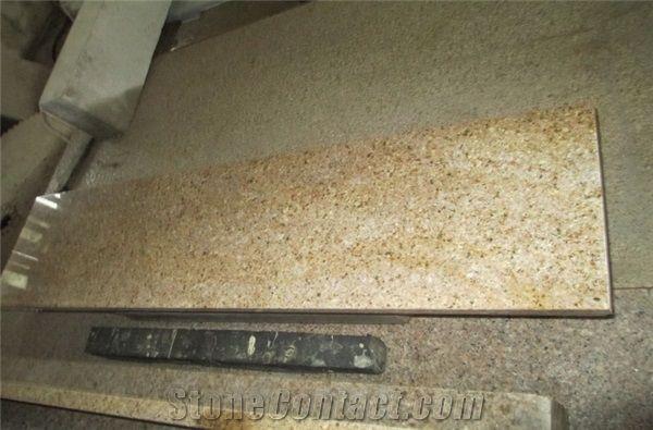 Ordinaire Rusty Yellow G682 Granite Stairs Yellow Granite Stair Steps Pavers