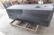 Striking Depth Polished Galaxy Black Granite Bar Countertops