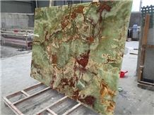 Ancient Green Onyx,Iran Green Onyx, Onyx Slabs, Tiles,Onyx Flooring