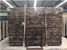 King Gold Brown Marble Slabs&Tiles Nature Stone High Quality Polished